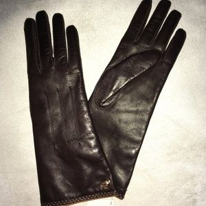 NEW Coach Leather Gloves!!